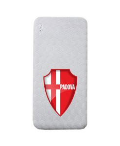 Biancoscudatistore.Power bank.Rombi.Classic.Bianco